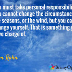 Quote From Jim Rohn about change