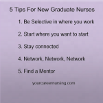 5 Tips For New Graduate Nurses